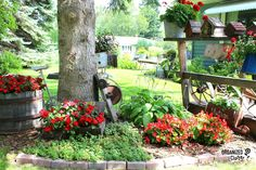 This Enchanting 'Junk Garden' Is Filled With Genius Ways to Repurpose Your Old Stuff  - CountryLiving.com