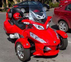 BRP Can-Am Spyder Roadster by ahisgett, via Flickr