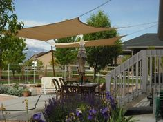 image of: patio shade ideas with string lights   garten & alles ... - Inexpensive Patio Shade Ideas