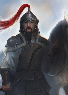 Genghis Khan by atroposdios