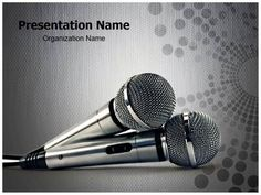 62 best entertainment powerpoint templates backgrounds images on microphones powerpoint template is one of the best powerpoint templates by editabletemplates toneelgroepblik Images