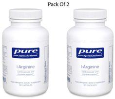 Pure-Encapsulations-L-Arginine-700-mg-90-VegCapsules-2-PACK-Exp-2-18-SD