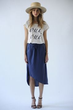 Spring 2014. It looks so simple. So stylish. I feel however I would like frumpy and not so stylish.