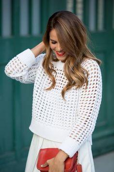 Return of the Skirt Look by Gal Meets Glam http://vnty.fr/1l0U9Ex #vfbestdressed