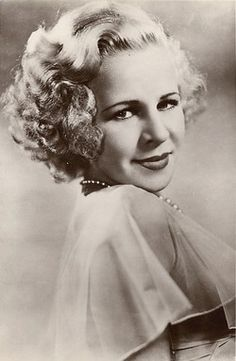 Lyda Roberti Ernst May 20, 1912- March 12, 1938  She died of a heart attack in Hollywood, California.