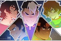 """10.6k Likes, 36 Comments - Jo⭐ (@johannathemad) on Instagram: """"So exicted about that S2 trailer so here's a thing I did back in November! #voltron…"""""""
