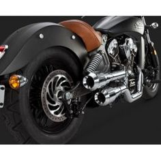 ESCAPAMENTO VANCE & HINES HI-OUTPUT GRENADES FOR INDIAN SCOUT - LCS Motorparts