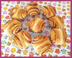 "Die Backprinzessin: ""Das grosse Backen"": Aufgabe ""Franzbrötchen"" Pancakes, Breakfast, Brot, Kuchen, Food Food, Smooth, Morning Coffee, Pancake, Crepes"