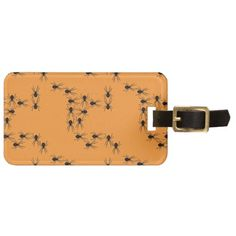 Creepy Crawly Spiders Luggage Tags