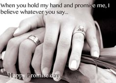 Happy Promise Day Wallpapers, Happy Promise Day Wishes Pictures, Happy Promise Day Images Happy Promise Day Wallpapers, Happy Promise Day Image, Promise Day Images, Promise Rings Meaning, Left Ring Finger, Silent Love, Valentines Day Wishes, Do It Yourself Fashion, Broken Promises
