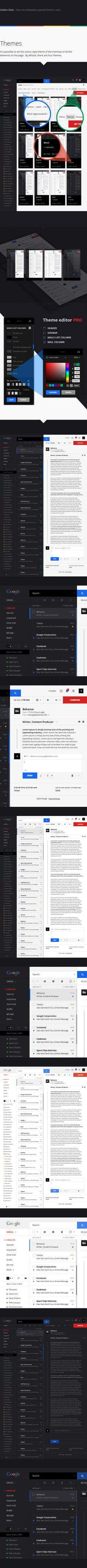 Gmail Redesign Concept by Ruslan Aliev, via Behance Dashboard Design, App Ui Design, User Interface Design, Creation Web, Google Material Design, Information Architecture, User Experience Design, Ui Web, Application Design