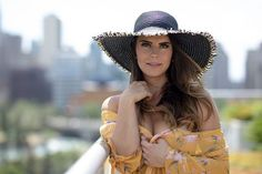 @misscarlierae looking all relaxed and stunning in her sun hat. #urbanstyle #rooftop #rooftopyyc #yycliving #yycphotographer #portraitphotography #fashion #fashionphotographer