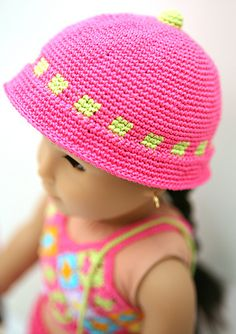 Ravelry: cataddict's I'm going to the beach hat freebie pattern