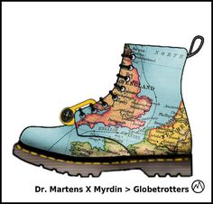 I like to design Dr. Martens boots! Here are the designs i created so far > Dr. Martens X Myrdin > Globetrotters with Dr. Martens compass : Dr. Martens X Myrdin > TV Dr. Martens X Myrdin X…