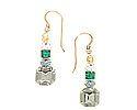 Crystal Bracelets, Swarovski Crystals, Amethyst, Drop Earrings, Jewelry, Jewlery, Jewerly, Schmuck, Amethysts