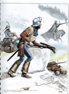 Osprey - Men-at-Arms #094 - The Swiss at War 1300-1500