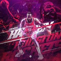 Fear The Beard ProjectJames Harden / Houston Rockets Mvp Basketball, Basketball Posters, Basketball Design, Football Design, Soccer Poster, Sports Graphic Design, Graphic Design Posters, Graphic Design Inspiration, Sport Design