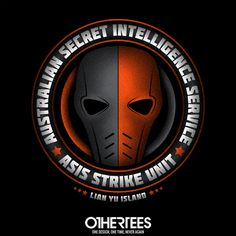 """""""ASIS Strike Team"""" by alecxps T-shirts, Tank Tops, V-necks, Sweatshirts and Hoodies are on sale until February 17th at www.OtherTees.com #dccomics #dc #deathstroke #arrow #othertees #comics"""