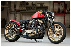 Another month and another world class Harley bobber from Jarrod and Justin Del Prado and the rest of the team at DP Customs in New River, Arizona. As with previous DP builds, this one has a rac...