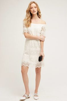 Eyelet Swing Dress | 17 White Dresses For You To Immediately Spill On And Ruin