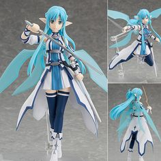 Figma 264 Asuna ALO Version   Now available in stock from: www.figurecentral.com.au  #figma #asuna #swordartonline #maxfactory #figurecentral