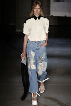 MM6 Maison Martin Margiela Spring 2015 Ready-to-Wear - Collection - Gallery - Look 2 - Style.com