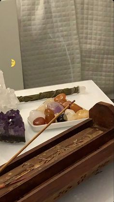 Witch Aesthetic, Aesthetic Rooms, Cat Aesthetic, Crystals And Gemstones, Stones And Crystals, You Are My Moon, Crystal Room, Crystal Altar, Crystal Decor