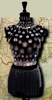 pendants on the bodice, chain choices draped below. Choose one of each. Jewelry Displays That Dazzle   Gift Shop Magazine
