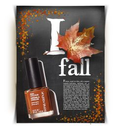 """""""Fall Nail Color"""" by kiki-bi ❤ liked on Polyvore featuring beauty"""