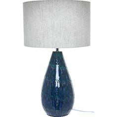 Sand & Blue Table Lamp