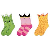 Totally getting these for Jamie!!    ANIMAL SOCKS|UncommonGoods