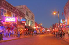 Beale St., Memphis, Tennessee
