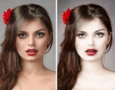 porcelain skin Photshop CS6 tutorial