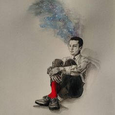 Use to dream of outer space -/ clique art