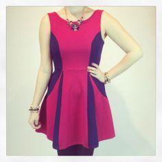 #color block dress