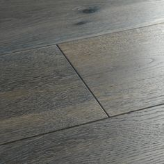 Harlech Stormy Oak is a dreamy fusion of grey hues and whitened grains. Careful brushing brings the wood's beautifully natural textures to the fore. Engineered Wood Floors, Hardwood Floors, Oak Flooring, Unique Flooring, Loft Room, Underfloor Heating, Storm Clouds, Natural Texture, Kitchen Flooring