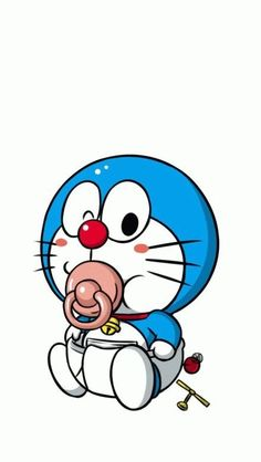 叮当猫 婴儿座 壁纸🎈🎏DORAEMAN & DORAMI🎈More Pins Like This At FOSTERGINGER @ Pinterest🎈⛱🎈⛱