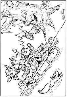 Fairy Tale Tree Sprookjesboom Coloring Pages 6 Cool Coloring Pages, Coloring Pages For Kids, Adult Coloring, Coloring Books, My Little Girl, My Baby Girl, Little Ones, Fairy Tree, Fantasy Life