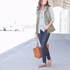 Want to elevate any look with an easy outer layer? Vest, please! See how to wear spring's most compelling layer.