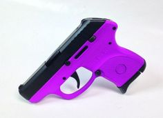 This is a Passion Purple Ruger LCP .380 acp pistol! Pick up yours today! - www.tzarmory.com