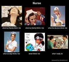 """A selection of """"What I Actually Do"""" meme posters"""" related to nursing, which have been making the rounds on the Interwebs. Some of them, I guess, are funny and clever, and theyR… Scrub Life, Human Behavior, Know Your Meme, Nurse Life, My Friend, Friends, Haha, Clever, Blues"""