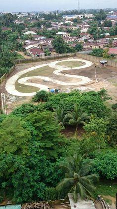 Axari Go Kart racing Track in Progress 2014