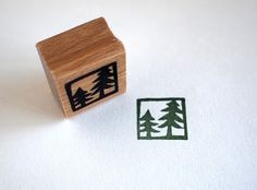 Cute, simple tree stamp. Love the frame.