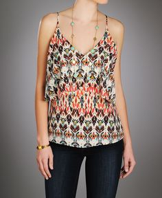 floral tier cami at south moon under