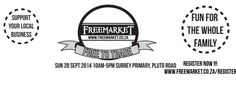 Freesia will be at the Next Freemarket Sunday 28 Sept 2014 at Surrey Primary in Surrey Estate