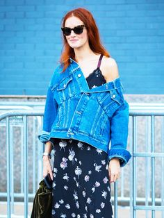 The #1 Street Style Trend Right Now, According to The Sartorialist via…
