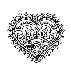 58 best mehndi henna designs images on henna, henna tattoos desenho Mandalas Drawing, Mandala Coloring Pages, Colouring Pages, Adult Coloring Pages, Coloring Books, Zentangles, Mandala Doodle, Mandala Tattoo, Mandala Design