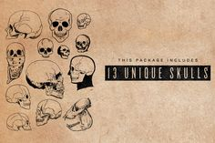 #Free #Download: Vector Skulls - http://crtv.mk/h0Fwv