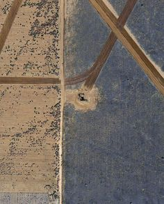 """archatlas: """" Pumped Mishka Henner Pumpjacks across the United States photographed from space. """""""