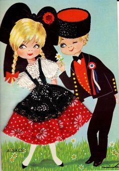 Le costume alsacien